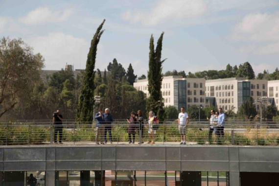 A first glimpse to The National Campus for the Archaeology of Israel